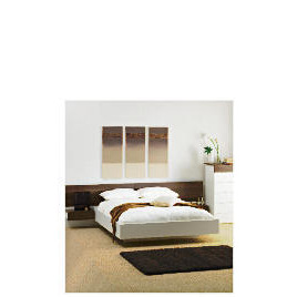 Mugello Double Bed Frame With Pine Slats, White Finish Reviews