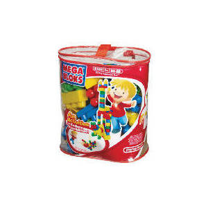 Photo of Mega Bloks 80 Piece Bag Toy