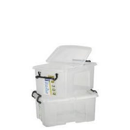 40L smart boxes, 2 pack clear Reviews