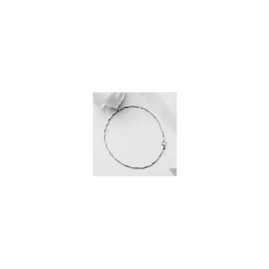 Silver Singapore Chain Anklet