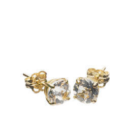9ct Gold Clear Topaz Earrings Reviews
