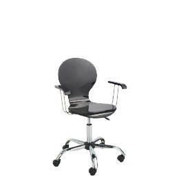 Viva High Gloss Home Office Chair, Black Reviews
