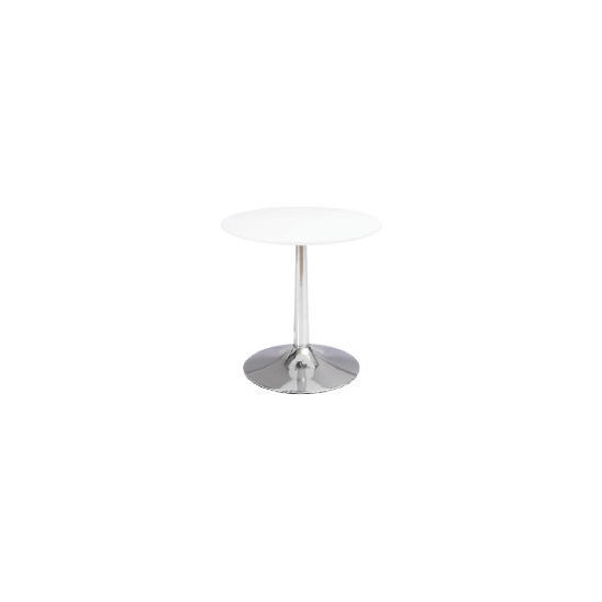 Barello Side Table - White Gloss