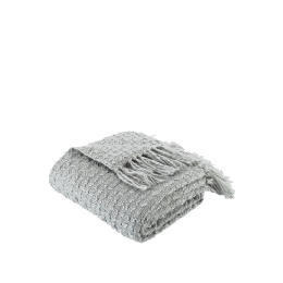 Tesco Knitted Boucle Throw - Dove Grey Reviews