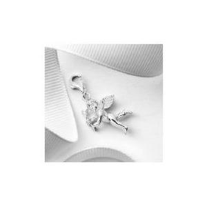 Photo of Silver Cherub Charm Jewellery Woman