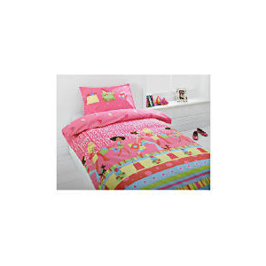 Photo of Tesco Kids Printed Girls With Style Bed Linen