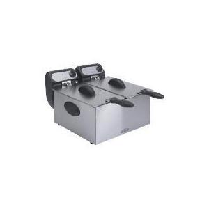 Photo of Mistral Twin Pro Fryer Deep Fat Fryer
