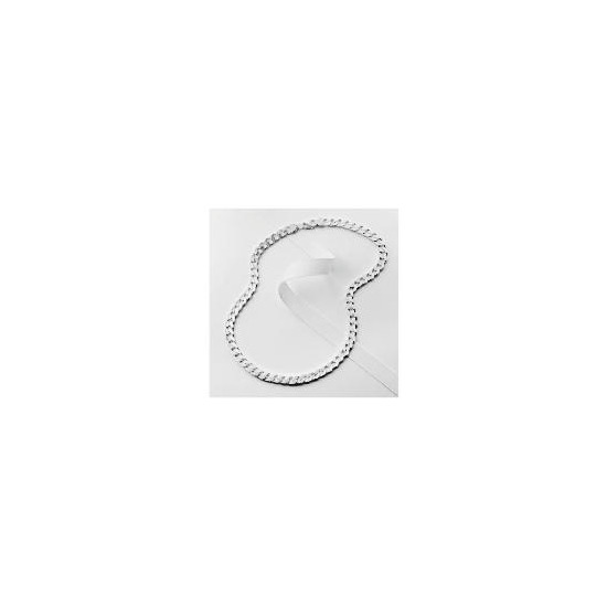 """Silver Curb Chain, 20"""""""