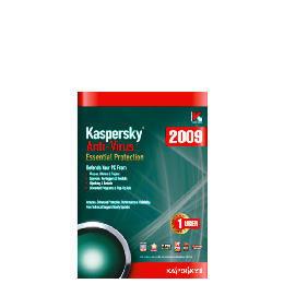 Kaspersky Anti-Virus 2009 - 1 user Reviews