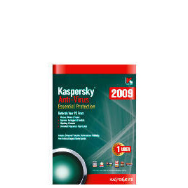 Kaspersky Anti-Virus 2009 - 1 user Reviews