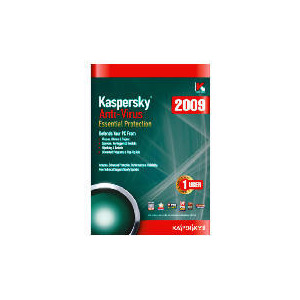 Photo of Kaspersky Anti-Virus 2009 - 1 User Software