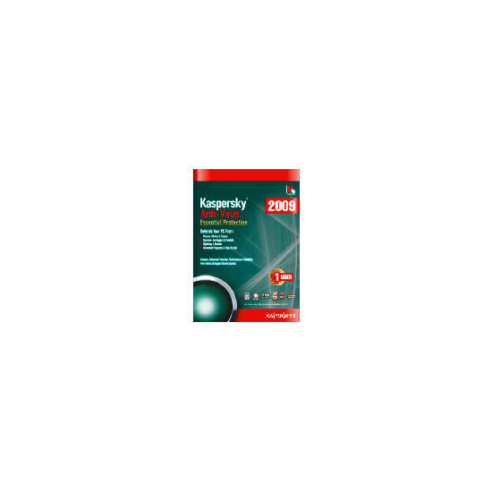 Kaspersky Anti-Virus 2009 - 1 user