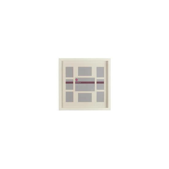 Tesco Block Frame Cream 9 Aperture