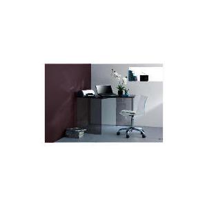 Photo of Geneva Glass Corner Desk - Black Furniture