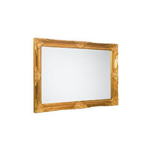 Photo of Kingsbury Gold Mirror 91X66CM Home Miscellaneou