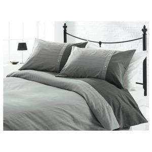 Photo of Tesco Herringbone Print Duvet Set Double Bedding