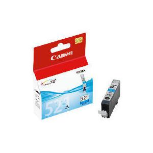 Photo of Canon CLI 521 Cyan Ink Ink Cartridge