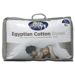 Photo of Silentnight Egyptian Cotton Duvet Double 10.5 Tog Bedding