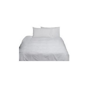 Photo of Elspeth Gibson Delicate Rose Duvet Set Kingsize - White Bedding
