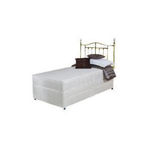 Photo of Silentnight Miracoil 3-Zone Memory Virginia Single 2 Drawer Divan Set Bedding