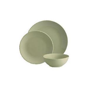 Photo of Tesco Mono Dinnerware Set 12 Piece, Green Dinnerware