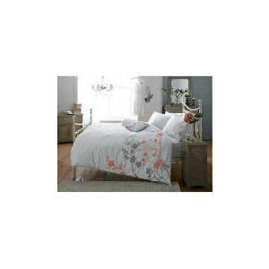 Photo of Elspeth Gibson Blossom Duvet Set Double, White Bed Linen