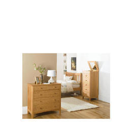 Illinois Tall Drawer Chest, Oak Reviews
