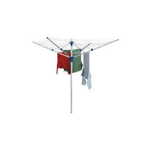 Photo of Aluminium 4 Arm Rotary Airer Clothes Airer
