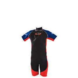 TWF Wetsuit Shortie Kids 5 Red Reviews