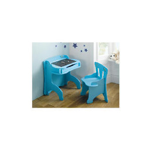 Photo of Space Age Blackboard Desk & Chair Set Toy