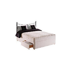 Photo of Sealy Posturepedic Silver Dream Double 2 Drawer Divan Set Bedding