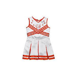 Photo of High School Musical White Metallic Cheerleader Dress Up Age 8/11 Toy