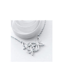 Silver Abstract Butterfly Necklace Reviews