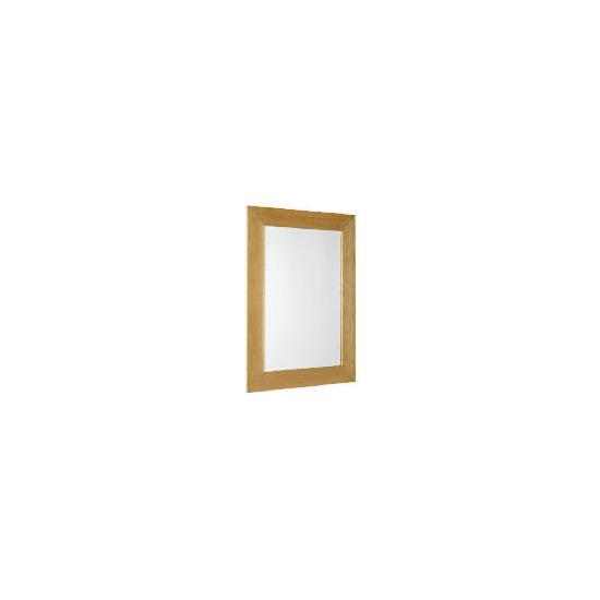 Solid Oak 4 inch Mirror 76x50cm