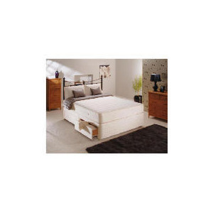 Photo of Sealy Classic Memory Comfort Super King 4 Drawer Divan Set Bedding