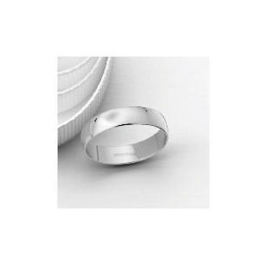 Photo of 18CT White Gold 5MM Wedding Band, S Jewellery Woman