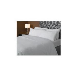 Photo of HOTEL 5* Squares Duvet Set Double, White Bed Linen