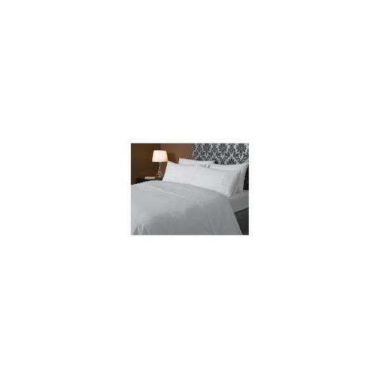 HOTEL 5* Squares Duvet set Double, White
