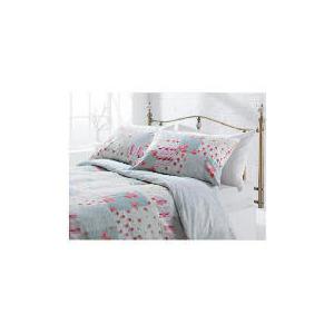 Photo of Tesco Amelia Patch Print Duvet Set Double, Pink Bed Linen