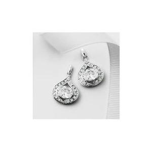 Photo of Pave Ice Queen Teardrop Earrings Jewellery Woman