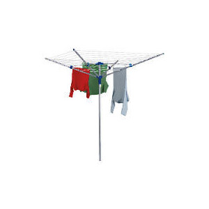 Photo of Steel 40M 4 Arm Rotary Airer Clothes Airer