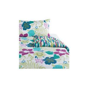 Photo of Tesco Tropical Print Duvet Set Single, Multi-Coloured Bed Linen