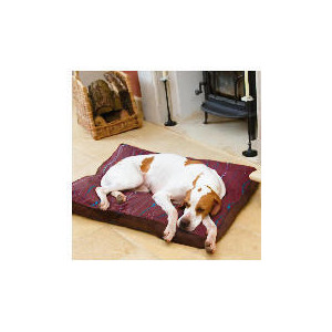 Photo of Suede Box Dog Bed Medium Home Miscellaneou