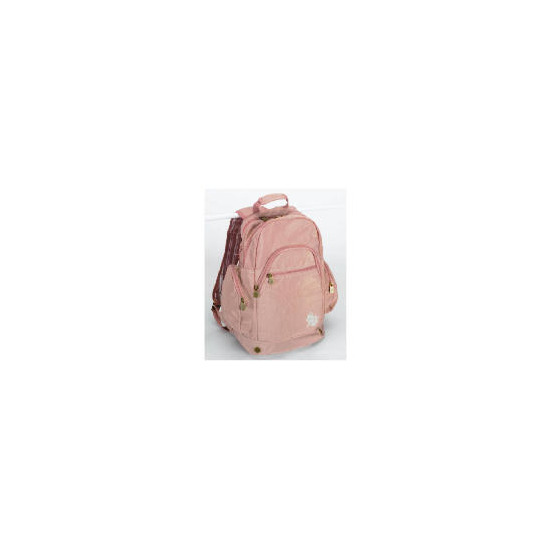 Solar Backpack - Dusky Pink