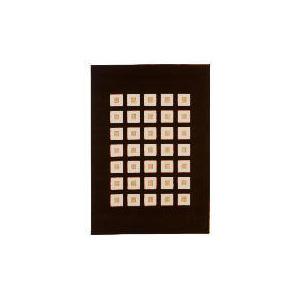 Photo of Tesco Loop & Pile Squares Chocolate 120X170CM Rug
