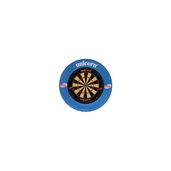 Unicorn striker dartboard and surround