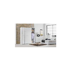 Photo of Monza Large Sliding Wardrobe, White Finish Furniture
