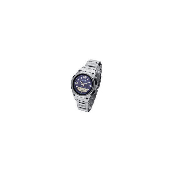 Casio Waveceptor Silver Watch