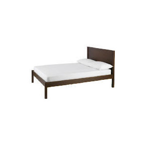 Photo of Monzora Double Bed, Dark Oak Bedding