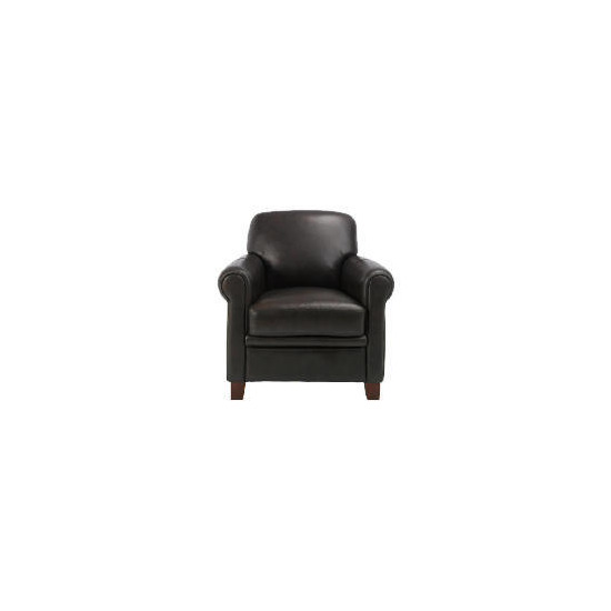 Maurice Club Chair, Chocolate